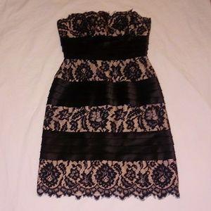 BCBGMAXAZRIA strappless dress